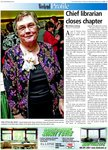 Chief librarian closes chapter