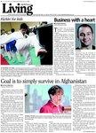 Goal is simply survive in Afghanistan