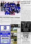 Blues minor bantam champs in Burlington