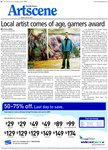 Local artist comes of age, garners award