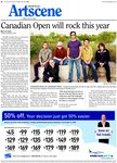 Canadian Open will rock this year