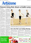 Dancers live their dream at ballet camp