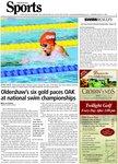Oldershaw's six gold paces OAK at national swim championships