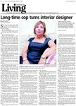 Long-time cop turns interior designer