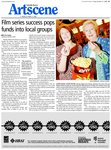 Film series success pops funds into local groups