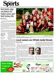 Red Devils edge out Nelson for Halton junior girls' field hockey title : Devilishly pleased