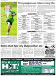 Three youngsters win Halton running titles