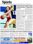 Undersized Irish topples Devils in junior Division 1 hoops final