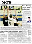 Local teams struggle at volleyball finals