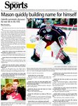 Mason quickly building name for himself: Oakville netminder discusses his new life in the NHL