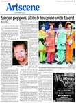 Singer peppers British Invasion with talent