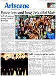 Peace, love and long beautiful Hair: W.E.S.T. presents groovy musical