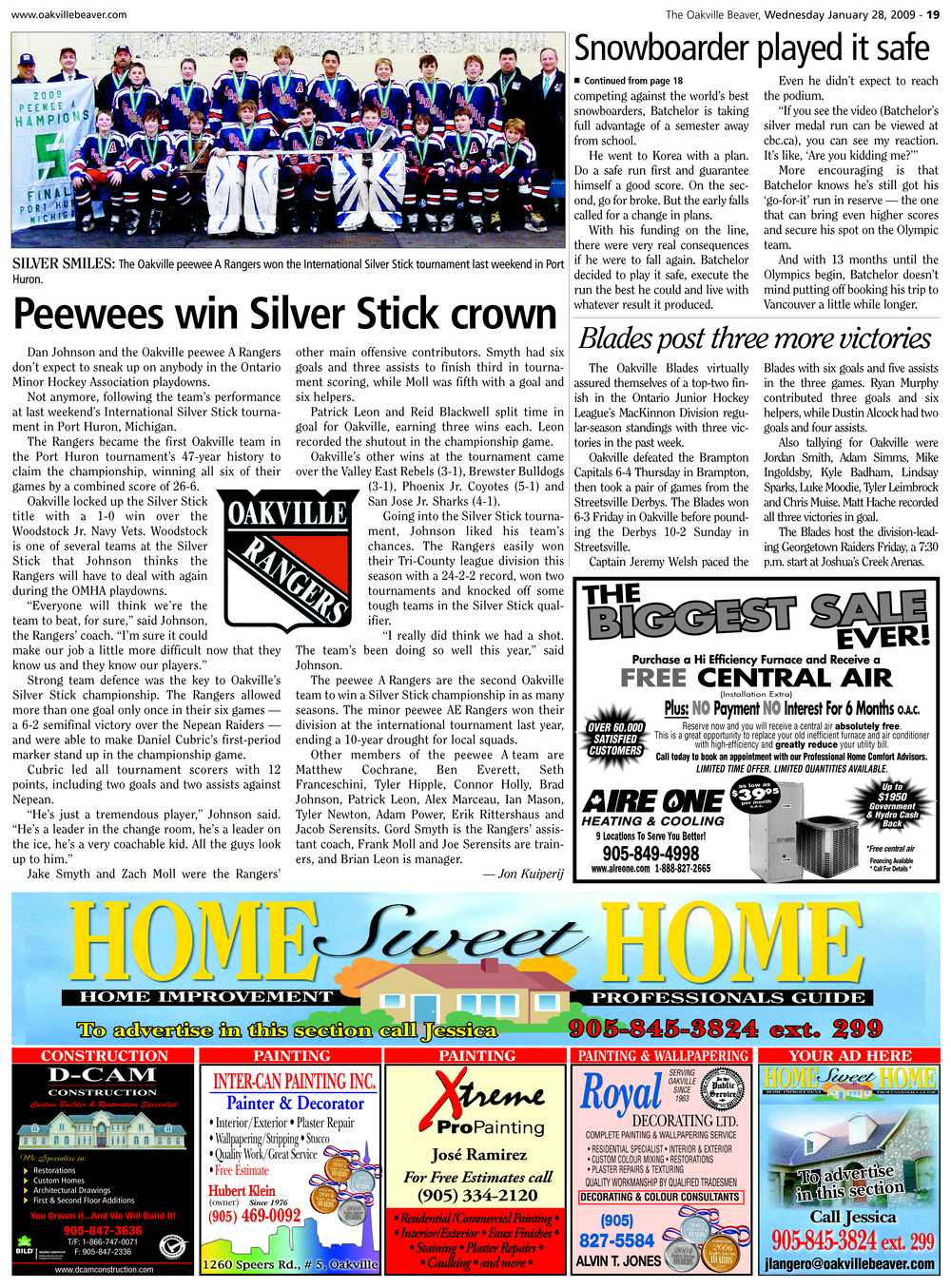 Peewees win Silver Stick crown
