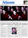 Chamber orchestra to lift spirits with Exuberant
