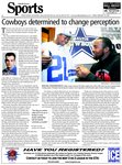Cowboys determined to change perception