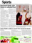 Red Devils finally solve Rebels in volleyball final