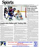 Loyola wins Halton girls' hockey title