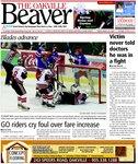 Blades advance: playoff win