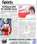 Karting no joke for Oakville racers : Preston, Johnson hope Stars of Canada series will help launch professional driving careers