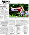 Forest Trail wins intermediate boys' title at meet