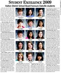 Student excellence 2009: Halton District School Board honours Oakville students