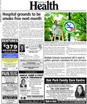 Hospital grounds to be smoke free next month