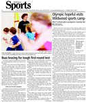 Olympic hopeful visits Wildwood sports camp:  Reid Coolsaet gives youngsters running tips