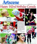 Happy 142nd birthday Canada