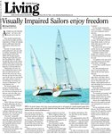 Visually Impaired Sailors enjoy freedom