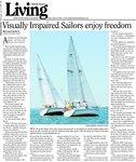 Visually Impaired Sailors enjoy freedom