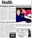 Emergency workers answer Sirens for Life