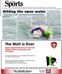 Hitting the open water