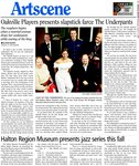 Oakville Players presents slapstick farce The Underpants
