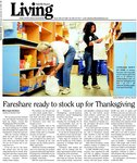 Fareshare ready to stock up for Thanksgiving