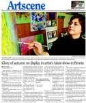 Glory of autumn on display in artist's latest show in Bronte