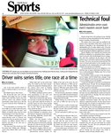 Driver wins series title, one race at a time