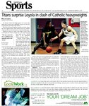 Titans surprise Loyola in clash of Catholic heavyweights