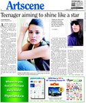 Teenager aiming to shine like a star