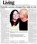 Oakville woman changed the odds to win