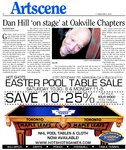 Dan Hill `on stage' at Oakville Chapters