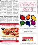 Pastel works brightening Town Hall