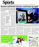 Dawson and former Lacrossse coach team up again