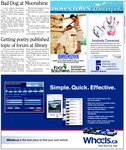 Getting poetry published topic of forum at library