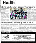 Photo exhibit offers Cancer Connections