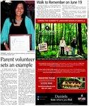 Parent volunteer sets an example