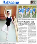 Ballet Students leap into summer school