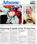 Preparing to dazzle at the TD Jazz Fest: for the love of it