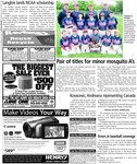 Pair of titles for minor mosquito A's