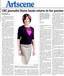 CBC journalist Diana Swain returns to her passion