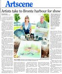 Artists take to Bronte harbour for show